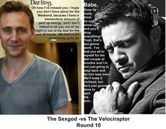Sexgod vs The Velociraptor - Round 10  via stonemaven.tumblr.com