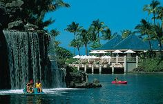 Hilton Waikoloa Village Resort, Big Island... We spent our honeymoon here and would love to go back!!!