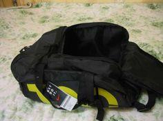 Сумка-рюкзак Nike Т90, Найк чёрная с жёлтым