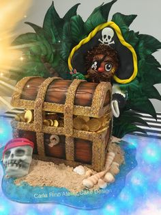 Pirate cake ... love to do it... For a very special prince