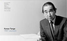 Kenzo Tange (1913-2005), ganhador do Prêmio Pritzker de Arquitetura 1987, é um dos arquitetos mais honrados do Japão. Professor, escritor, arquiteto e urbanista, ele é reverenciado não só para o seu próprio trabalho, mas também por sua influência sobre os arquitetos mais jovens. Ele nasceu na pequena cidade de Imabari, Shikoku Island, Japão, em 1913.  http://www.pritzkerprize.com/1987/bio