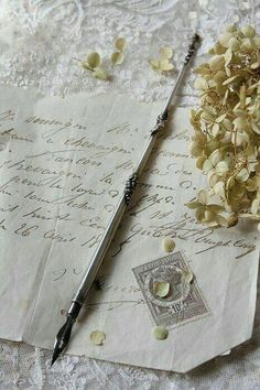 love letter Gabbi We could get feather pins and ink pots Water feature pen gathering Old Letters, Handwritten Letters, Dip Pen, Lost Art, Penmanship, Letter Writing, Pen And Paper, Writing Instruments, Mail Art