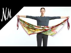 How to Wear a Scarf Like a Stylist | Neiman Marcus - YouTube