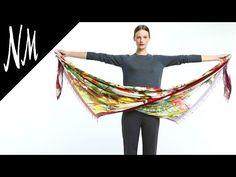 How to Wear a Scarf Like a Stylist | Neiman Marcus - YouTube