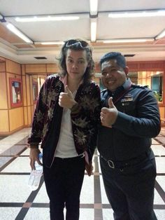 Harry at the airport