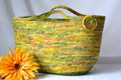 Moses Basket, Handmade Autumn Basket, Tote Bag by Wexford Treasures #WexfordTreasures