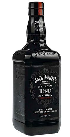 In celebration of the birthday of the venerable Tennessee whiskey maker, Jack Daniel's presents this limited-edition black bottle of Old No. Good Whiskey, Cigars And Whiskey, Bourbon Whiskey, Whiskey Bottle, Wine And Liquor, Liquor Bottles, Wine And Beer, Jack Daniels Bourbon, Jack Daniels Black