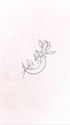 Mini Tattoos, Cute Tiny Tattoos, Dainty Tattoos, Little Tattoos, Pretty Tattoos, Flower Tattoos, Body Art Tattoos, New Tattoos, Small Tattoos