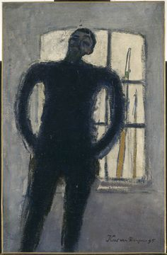 Kees van Dongen, Self-portrait, 1895 (Centre Georges Pompidou, Paris).