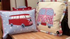 Campervan Cushions   Busymitts