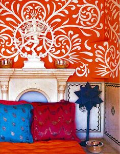 Colorful India Inspired Interiors
