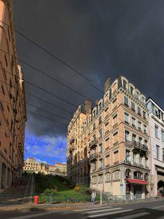 Lyon - Montée de l'amphithéatre