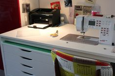 Haga su propio escritorio de coser Tutorial