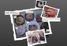 For Dinner on 10 April 2012