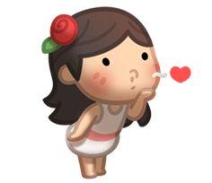 Te mando un besito amor