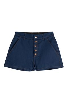 Branson Denim Shorts detail 0