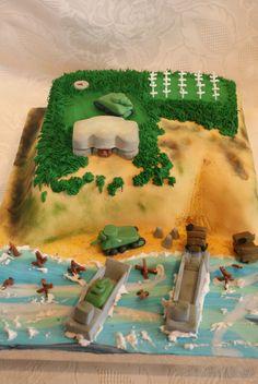 WW2 D-Day cake