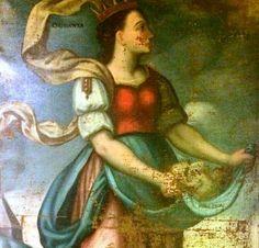 Un óleo sobre lienzo de la primera mitad del siglo XVIII es la `Pieza del mes´ en el Museo de León