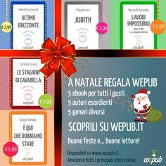 A Natale regala (e regalati) gli ebook di WePub.