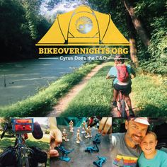 Cyrus Does the C&O — Bike Overnights