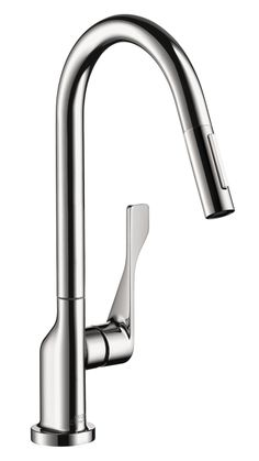 Axor Citterio   Axor Citterio 2 Spray HighArc Kitchen Faucet, Pull Down |  Hansgrohe US