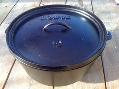 Derek on Cast Iron - Cast Iron Recipes: Equipment: Camp Dutch Oven - 8 Quart