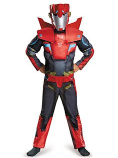 Transformers Sideswipe Classic Costume for Kids - RobotMerchandise