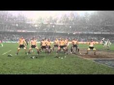"▶ New Zealand ""All Blacks"" Rugby team HAKA in the rain 2014 Hong Kong Sevens Tournament - YouTube"