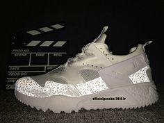 Officiel Nike Air Huarache 4 Décoloration Réfléchissante Chaussures Nike  2016 Pas Cher Pour Homme Chaussure Nike e17f101db894