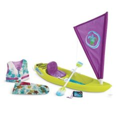 American Girl - Lea Clark - Lea's Ocean Kayak Set for Dolls - American Girl of 2016
