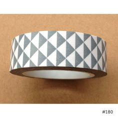 Washi Tape - Gray Triangles - USA
