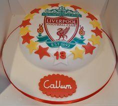 Liverpool football cake