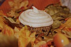 Disneyland's Pumpkin Muffin with Cream Cheese Icing.