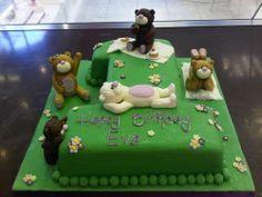 teddy bear picnic cake ideas - Google Search