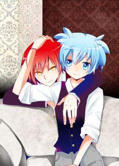 Awwwwwww, Karma and Nagisa XD So cute X3