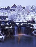 Snow at Big Cedar Lodge