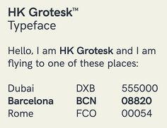 HK Grotesk is a sans serif typeface inspired from the classic grotesques. 100 Free Fonts, Sans Serif Typeface, Web Design Projects, School Design, Print Design, Letters, Learning, Day, Typography