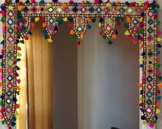 Curated collection of Indian wear Art&craft gifts by AanganofIndia Diwali Diy, Diwali Craft, Diy Arts And Crafts, Hobbies And Crafts, Diy Crafts, India Home Decor, Diy Diwali Decorations, Wall Hanging Crafts, Entrance Decor