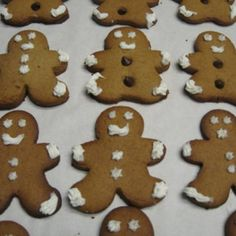 Gingerbread People vegan, plantbased, earth balance, made just right