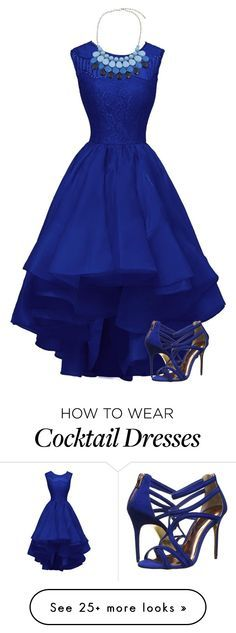 """Dancing dress for prom"" by dida-zalesakova on Polyvore featuring Chicnova Fashion and Ted Baker"