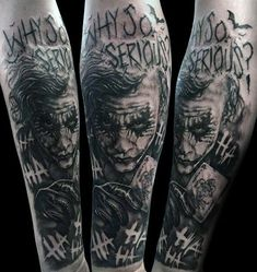 50 Cool Joker Tattoos for Guys