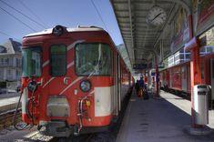 We caught this train from Zermatt to Gornergrat to look over the Matterhorn Wallis, Swiss Railways, Zermatt, Locomotive, Switzerland, Trains, Explore, City, Locs