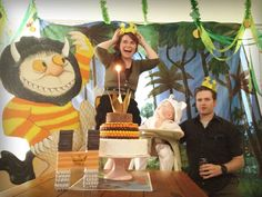 Where the Wild Things Are party inspiration via MilkEyes