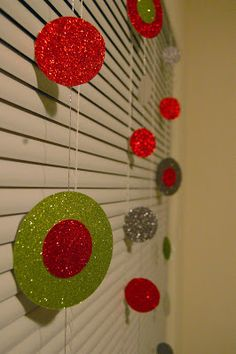 Homemade With Love: DIY Christmas window display