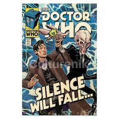 Doctor Who Silence Will Fall Comic Book Cover Poster - Culturenik - Doctor Who - Artwork at Entertainment Earth