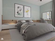 Skandynawska, minimalistyczna sypialnia. - zdjęcie od YONO Architecture