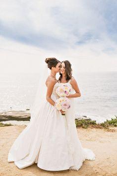 Romantic Same Sex Wedding by Sweet Little Photographs