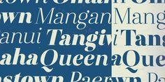 Otama Italic by Tim Donaldson, via Behance