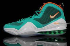 Nike Air Penny V Miami Dolphin #Nike #SoleAwesome #Kicks