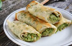 5 recipes for pancakes stuffed with broccoli that you can include at breakfast to lose weight - lose weight at home - Maressa Muttock Detox Recipes, Salad Recipes, Healthy Recipes, Ricotta, Tortillas, Crepes Rellenos, Lunches And Dinners, Meals, Lose Weight At Home